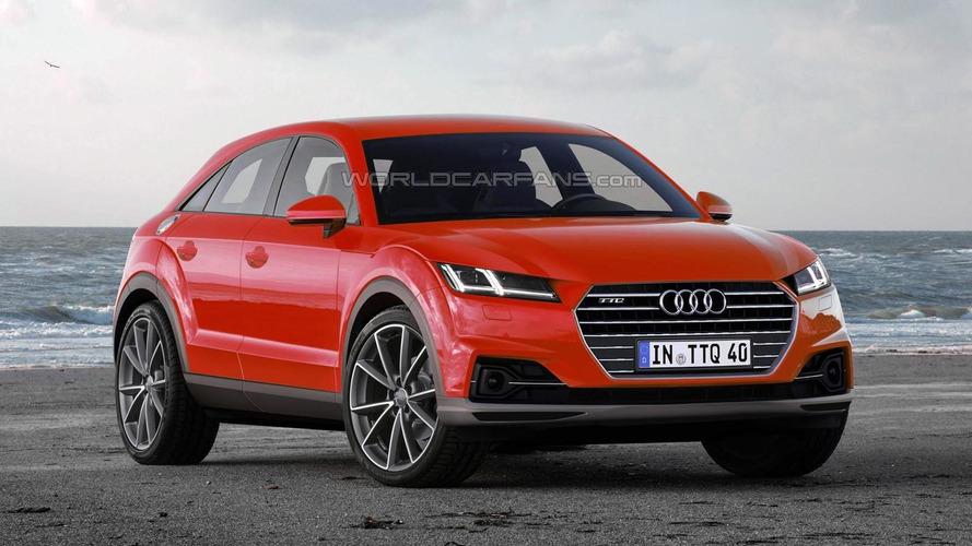 2017 Audi TTQ unofficial render previews production model