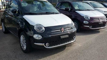 Fiat 500 facelift photographed inside and out with no camouflage