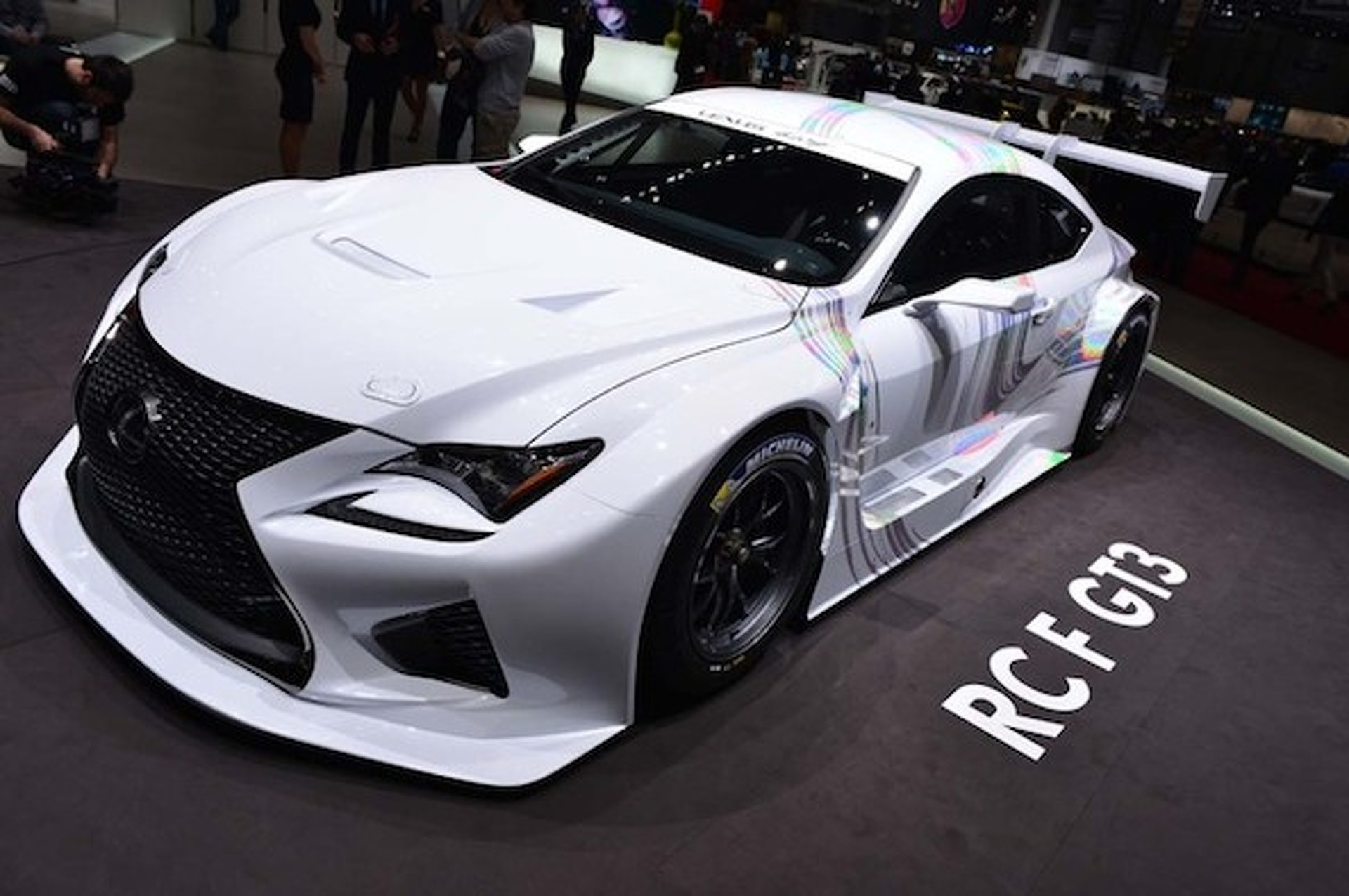 Geneva: Track-Ready RC F GT3 Proves Lexus is Vanilla No More