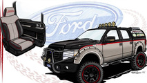 Ford previews their truck lineup for SEMA