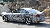 2014 Audi A8 facelift spy photo 29.07.2013
