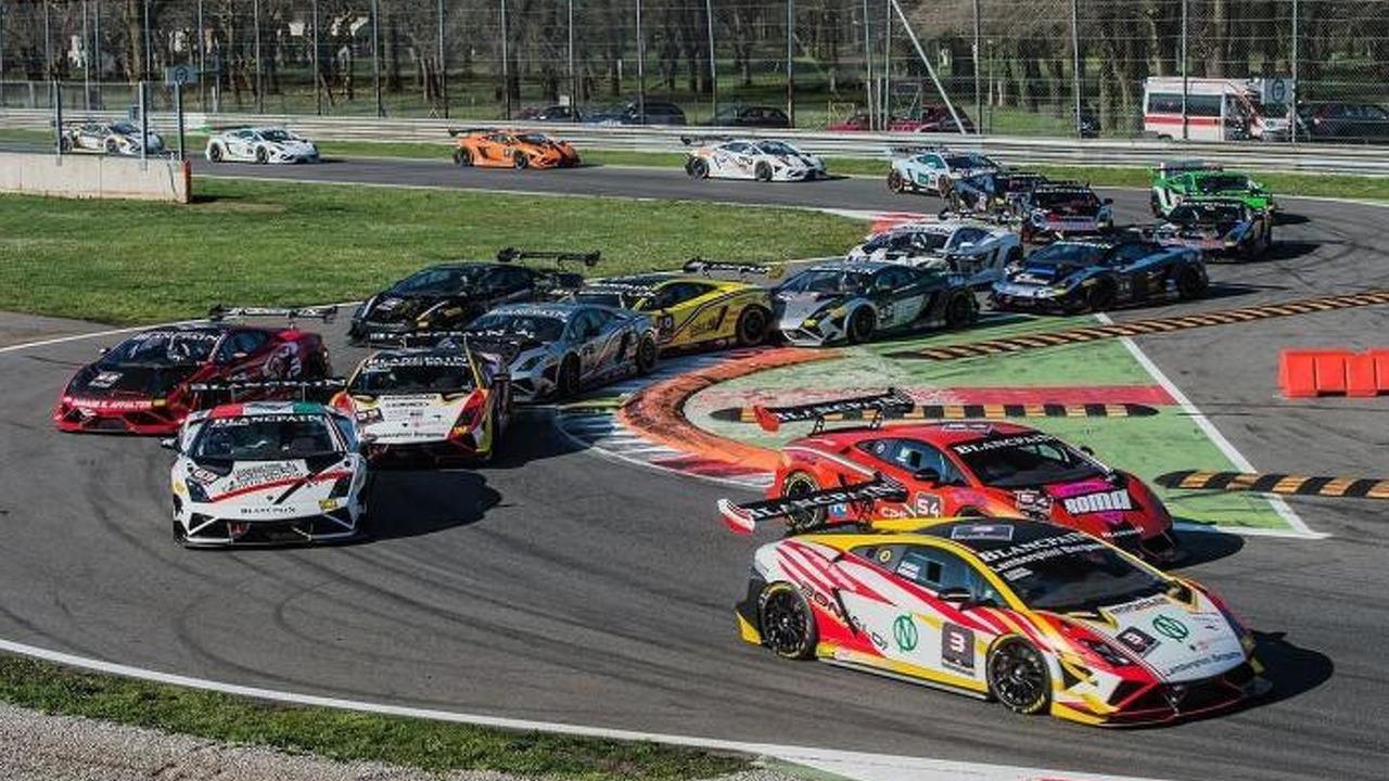 Lamborghini Blancpain Super Trofeo Series 21.6.2013