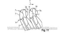 Porsche headrest-mouned wind deflector patent 22.10.2013