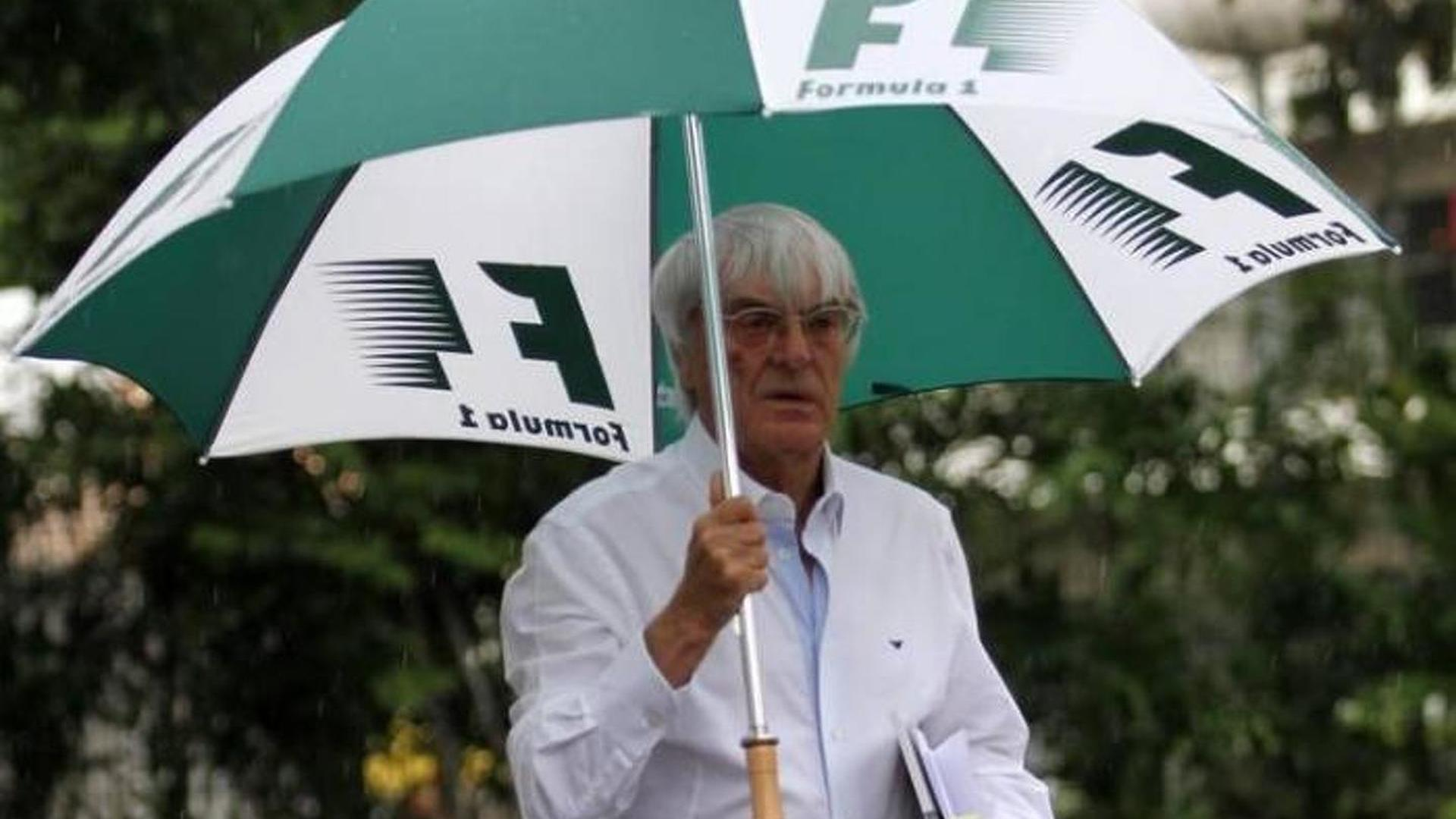 Ecclestone to push for louder F1 engines