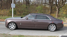 2011 Rolls-Royce Ghost EWB spy photos - 11.09.2010
