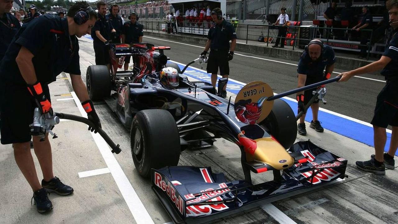 Jaime Alguersuari, Hungarian Grand Prix, practice, 25.07.2009