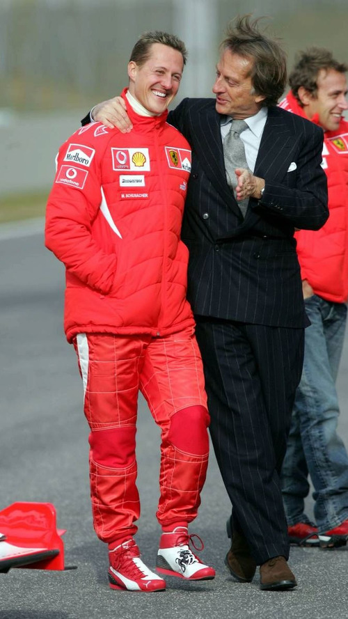 Montezemolo admits he misses Schumacher 'at times'