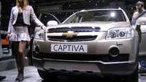 Chevrolet Captiva Premier at Geneva