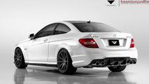 Vorsteiner reveals their Mercedes C63 AMG Coupe kit