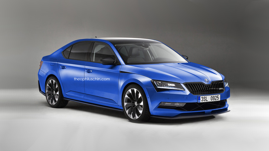 Skoda Superb RS seriously being considered