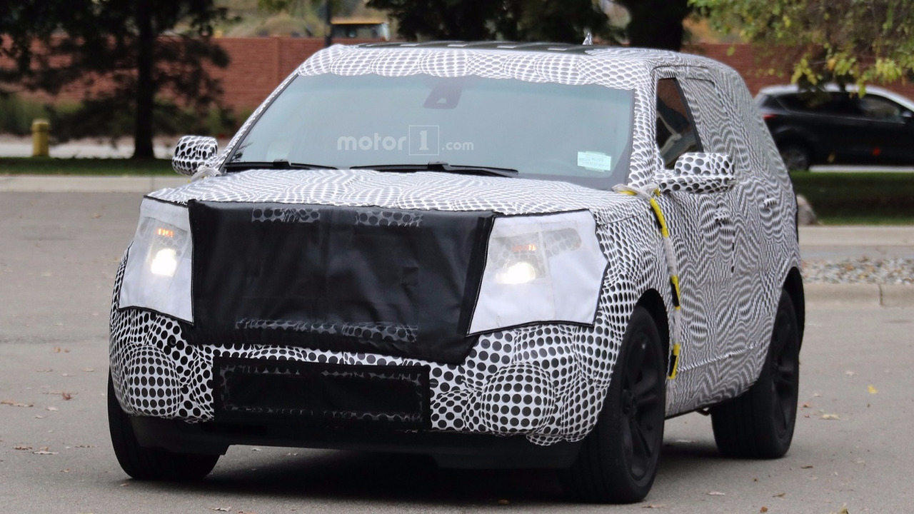 2019 Ford Explorer spied for the first time | Motor1.com Canada