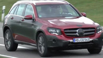 Mercedes-Benz GLC screenshot from spy video