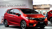 2015 Honda Jazz prototype at 2014 Paris Motor Show