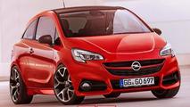 Opel Corsa virtually receives the OPC treatment