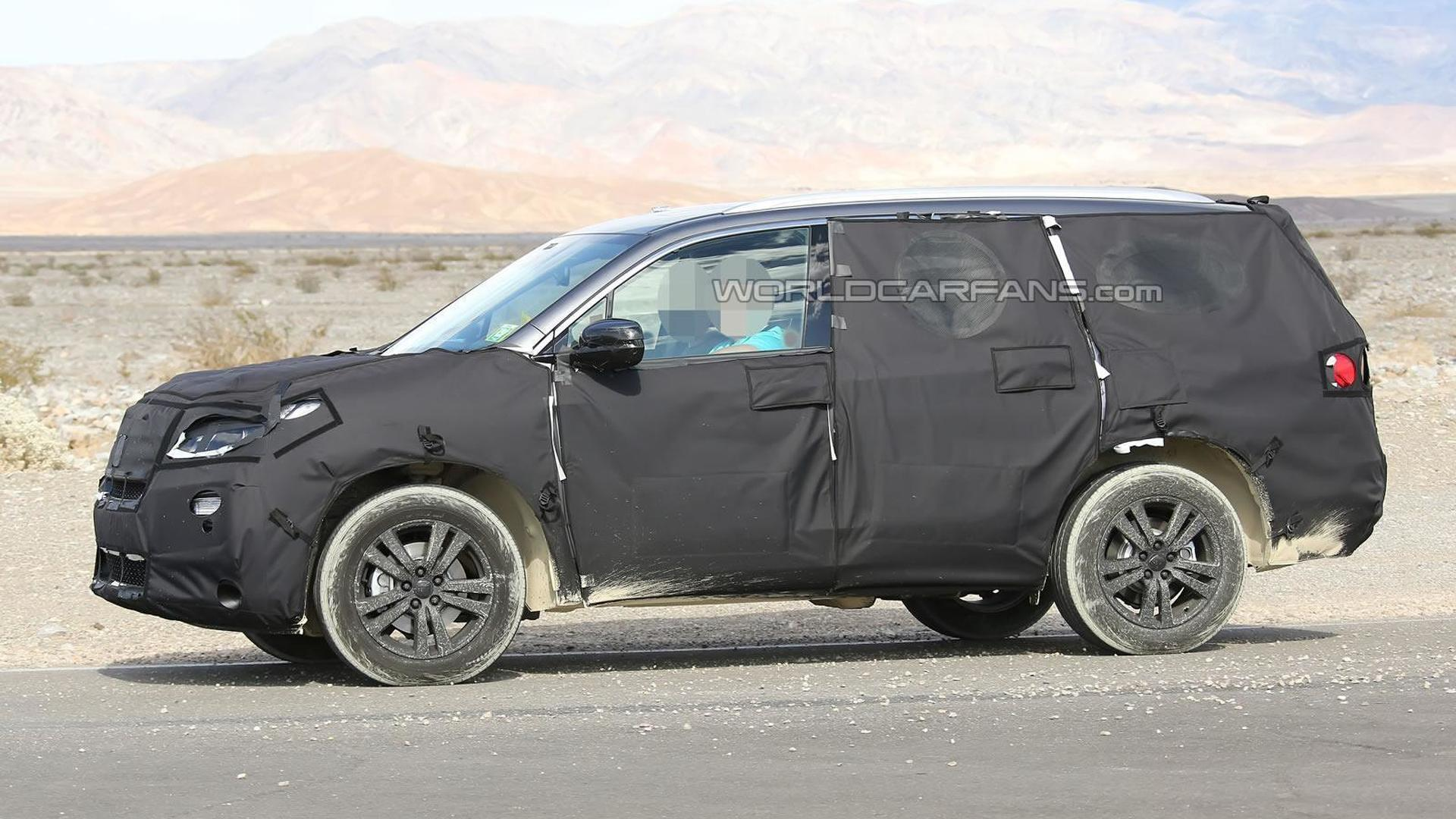 Redesigned Honda Pilot confirmed for this summer, new Ridgeline coming in 2016