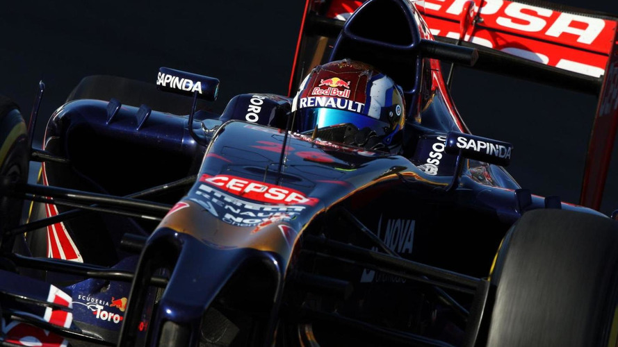 Austin track gets Kvyat's flag colours wrong