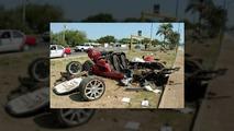 Koenigsegg CCX destroyed in fatal crash