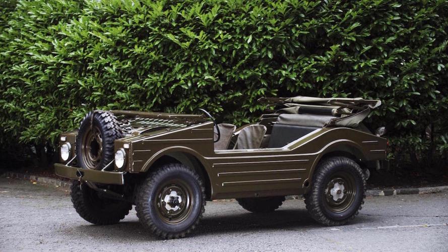 Rare 1957 Porsche military 4x4 could fetch $263,000 at auction