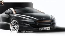 2014 Peugeot RCZ R announced for Goodwood debut