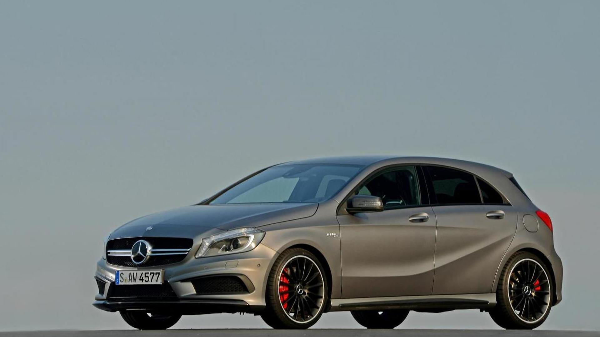 Mercedes-Benz A 45 AMG priced from 37,845 GBP