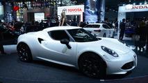 Alfa Romeo hints at hotter 4C
