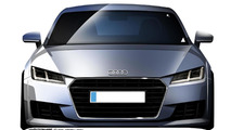 2015 Audi TT unveiled with sharper styling and 310 HP TTS version