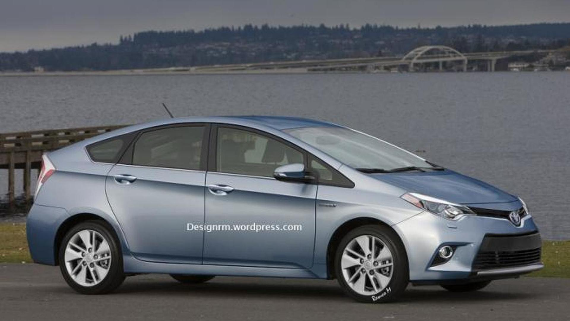 2015 Toyota Prius gets rendered