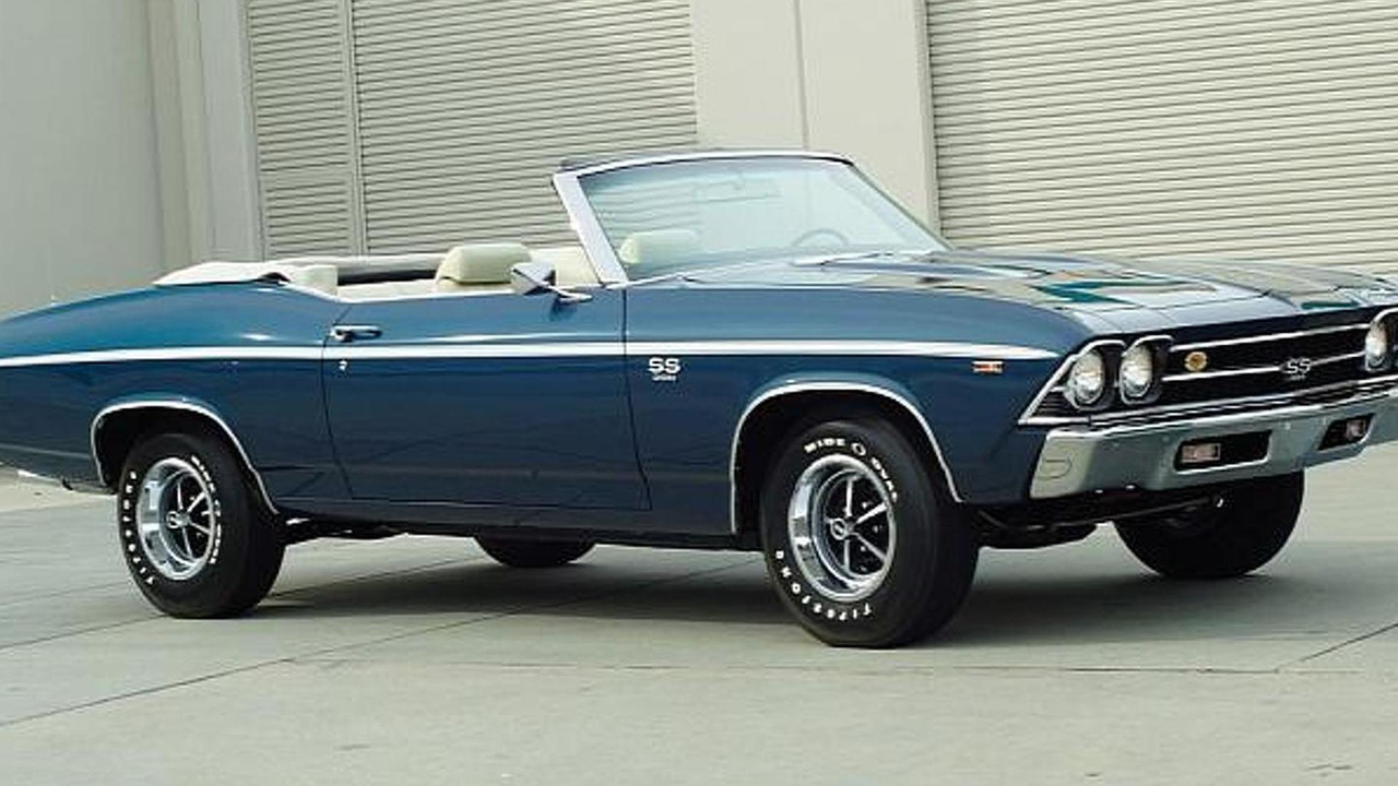 1969 Chevrolet Chevelle SS 396 L89 Convertible for sale