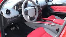 Mercedes ML350 in Ferrari Red by ART