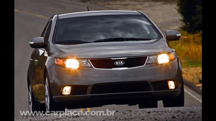 Para encarar concorrência, Kia Cerato tem redução de preços: a partir de R$ 49.900