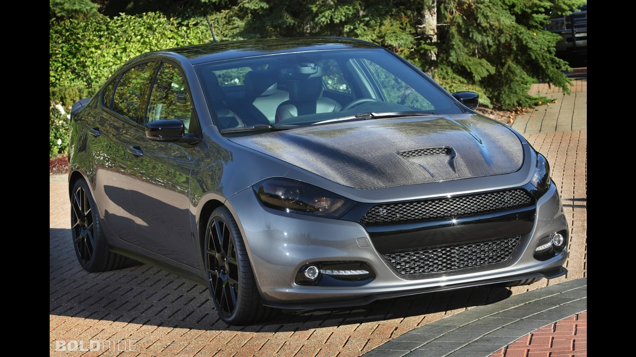 Dodge Dart Carbon Fire SEMA