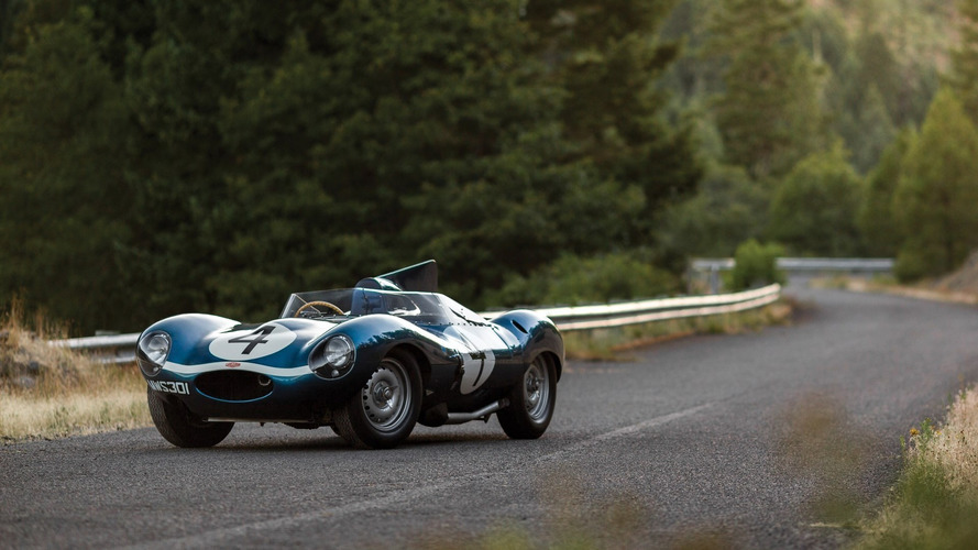 Le Mans-winning Jaguar D-Type sells for world record $21.78m at Monterey
