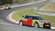 2016 MINI Clubman S spied testing on the Nordschleife