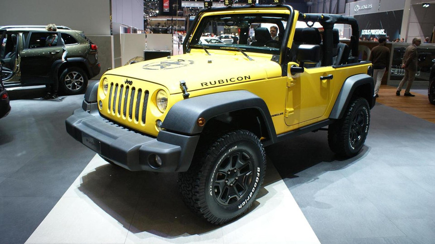 2015 Jeep Wrangler Rubicon Rocks Star unveiled ahead of Geneva debut