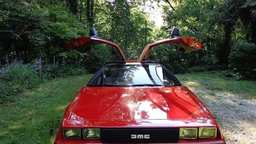 Dealer-Painted 'Ferrari Red' DeLorean DMC-12 Shows Up on eBay
