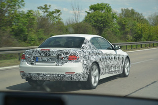 BMW 4 Series Spied Testing in Germany