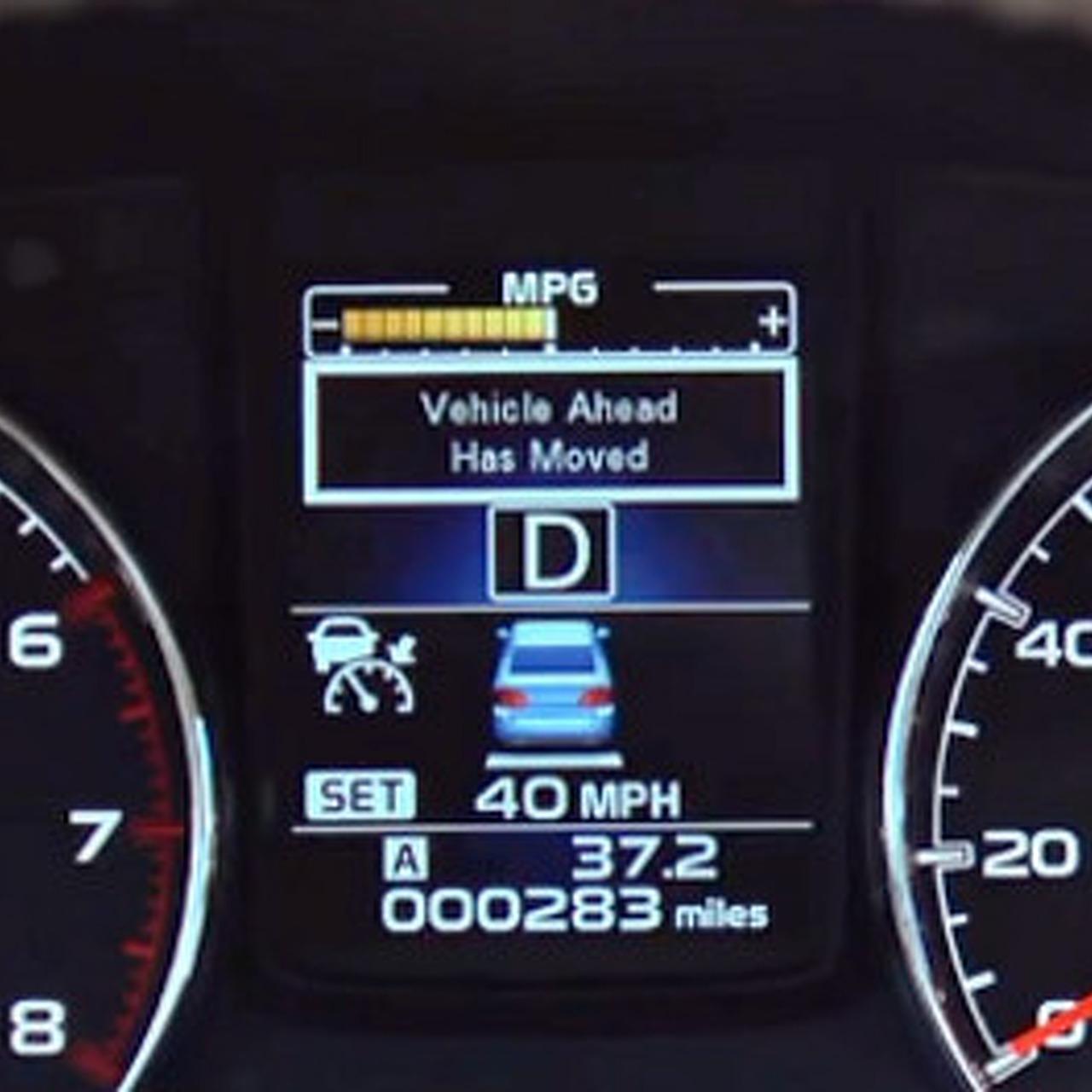 Subaru EyeSight Actually Understands How We Drive