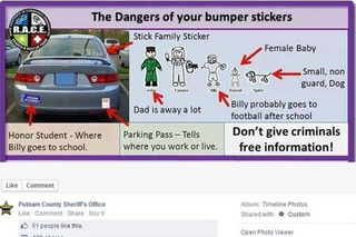 Sheriff Freaks Out Floridians About Their Bumper Stickers