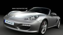 Artists Renderings or Leaked? 2010 Porsche Cayman S & Porsche Boxter S