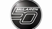 McLaren 50th anniversary logo 21.1.2013