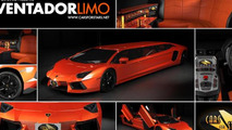Lamborghini Aventador Limo by Cars For Stars