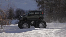 OFFICIAL: Fiat Panda Monster Truck means business [video]
