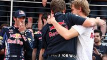 Webber should have kept grievance inside team - Vettel