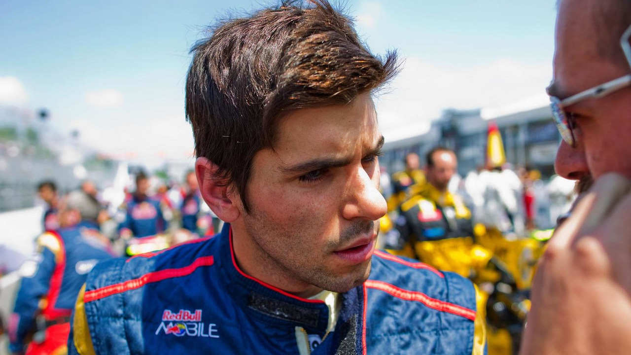Jaime Alguersuari of Spain and Scuderia Toro Rosso