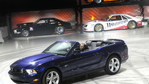 2010 Ford Mustang debut in Los Angeles