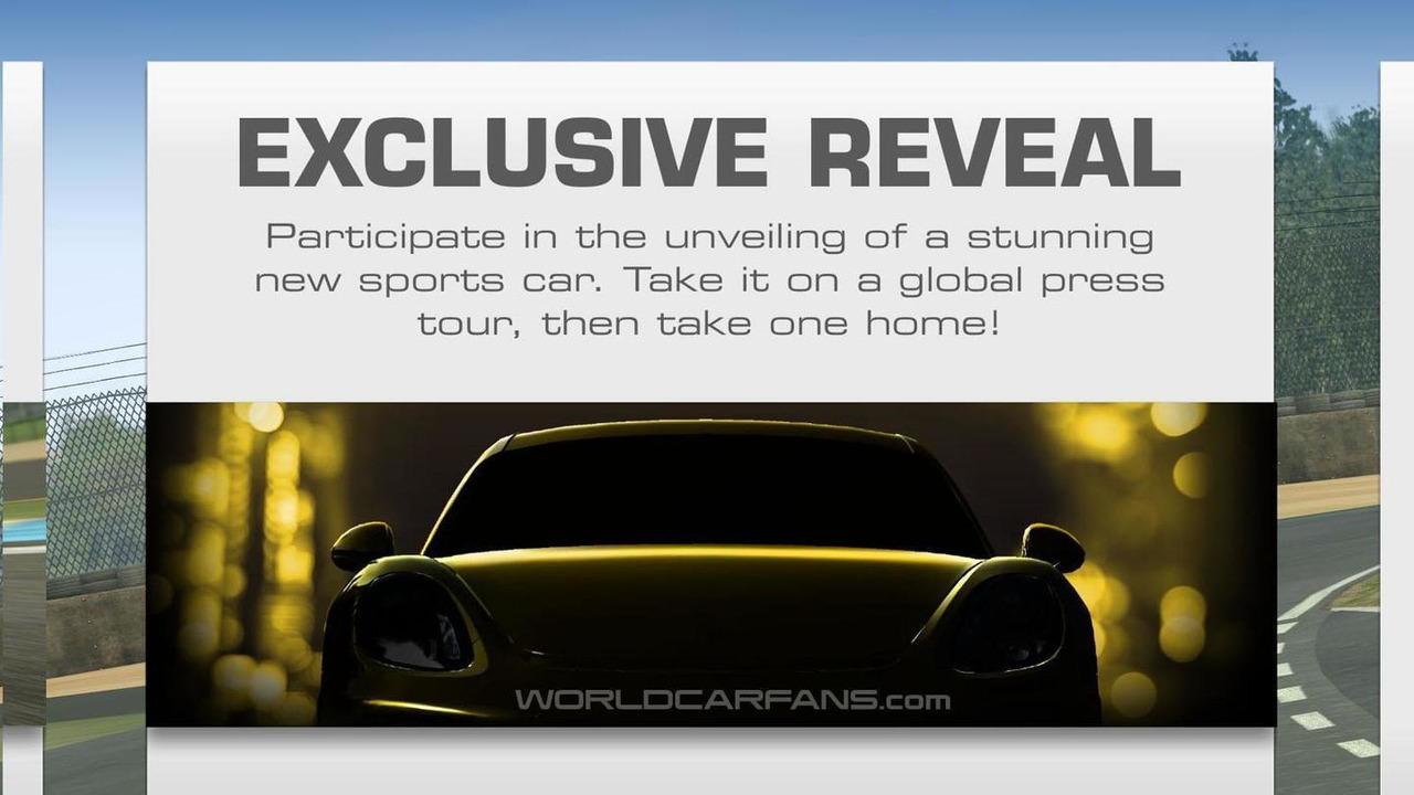 Porsche Cayman GT4 teaser image