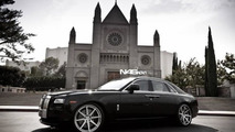 Rolls-Royce Ghost with ADV.1 wheels, 1024, 23.12.2011