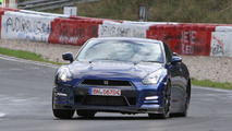 2013 Nissan GT-R Evo or SpecR variant spied on the ring 29.09.2011