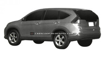 2012 Honda CR-V revealed in patent filing