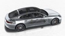 Porsche adds optional 1455w Burmester 3D stereo to Panamera